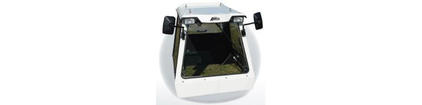 Cabina de tractor