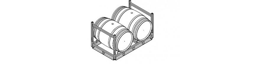 Soporte de barricas
